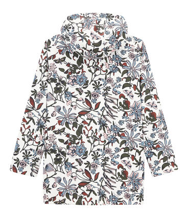 Women's iconic raincoat Marshmallow white / Multico white
