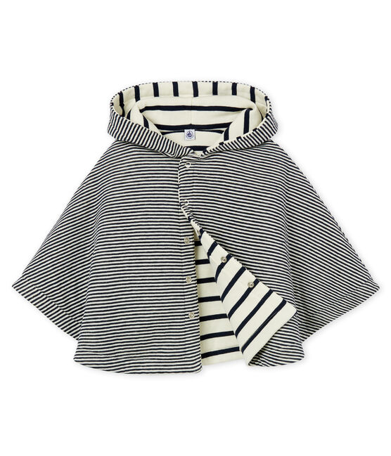 Unisex Babies' Iconic Cape Smoking blue / Coquille beige