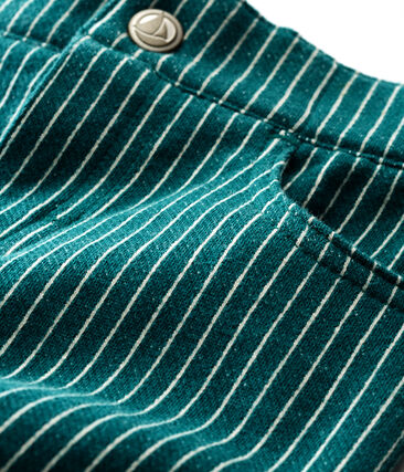Baby boys' striped jersey trousers