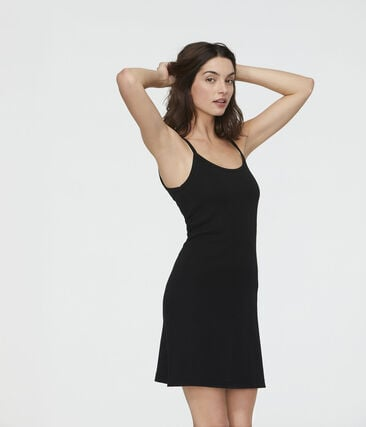 Women's Strappy Dress Noir black