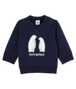 Baby Boys' Fleece Sweatshirt Smoking blue