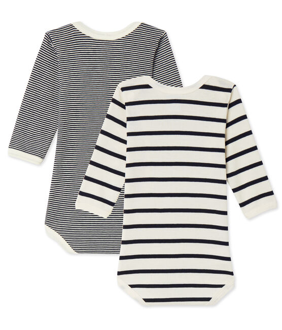 Mixed baby's long sleeved body duo . set