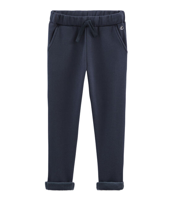 Boys' Warm Fleece Trousers SMOKING