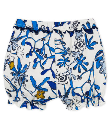 Baby girls' printed knit bloomers
