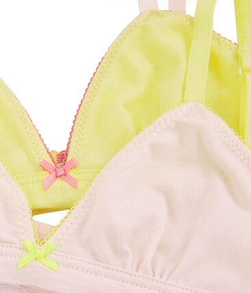 Girls' Bras - 2-Piece Set . set