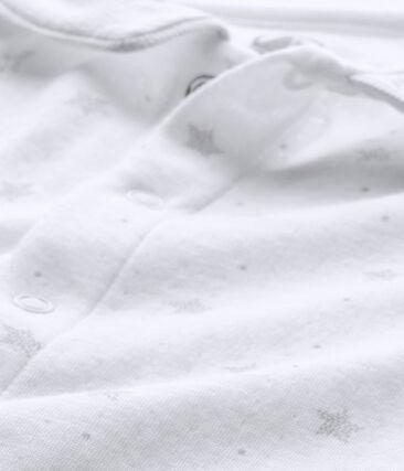 Baby's unisex sleepsuit and its newborn hat