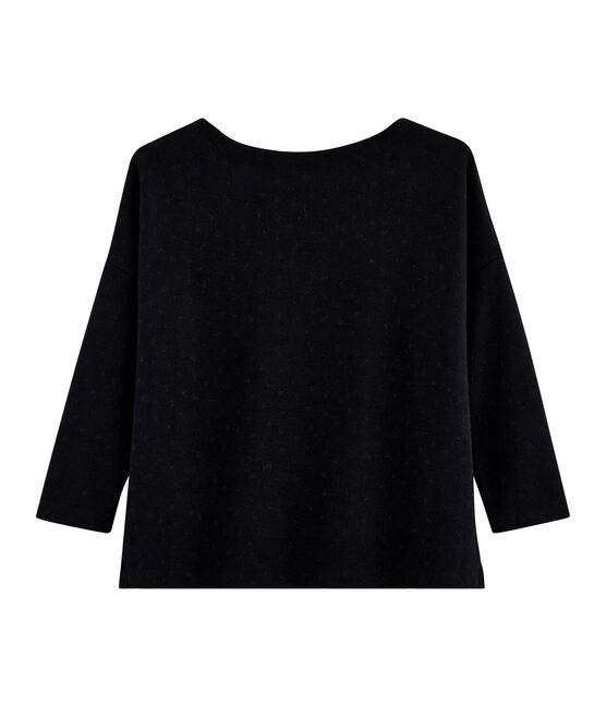 Women's New Look Sailor Top Noir black / Lurex Noir black