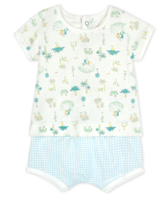 Baby Boys' Clothing - 2-Piece Set Marshmallow white / Multico white