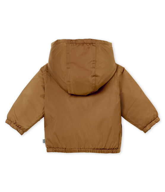 Unisex Babies' Warm Reversible Windcheater Brindille brown
