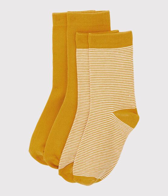 Boys' socks Boudor yellow