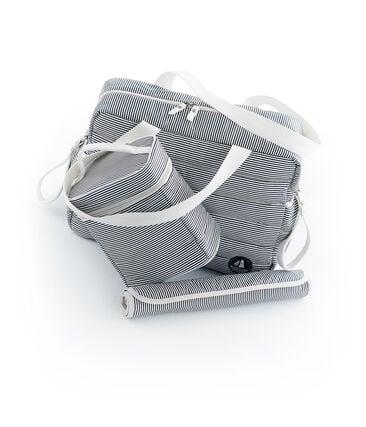 Set contains 1 changing bag, 1 isothermal bag, and 1 nylon changing mat. . set