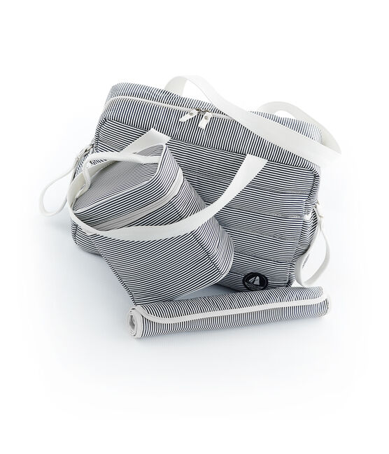Set contains 1 changing bag, 1 isothermal bag, and 1 nylon changing mat. . set