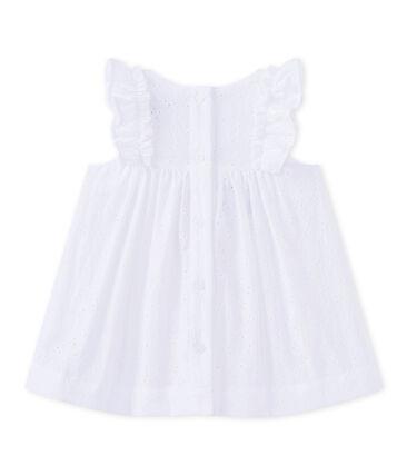 Baby girls' eyelet lace dress