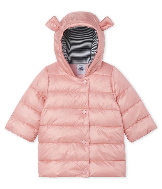 Baby Girls' Satin Look Polyamide Parka Coat FLEUR