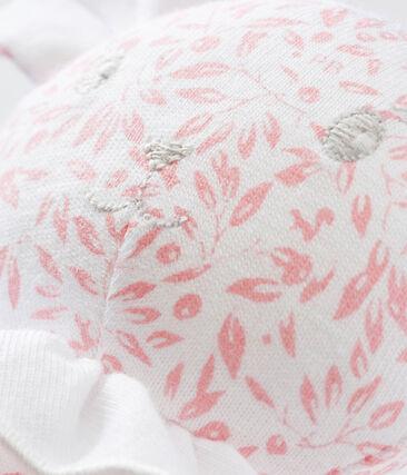 Lamb comforter in print jersey