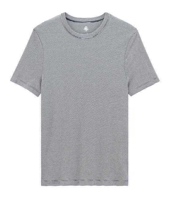Men's T-shirt Smoking blue / Marshmallow white