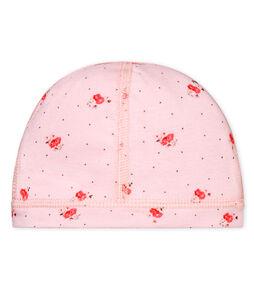 Unisex newborn baby printed bonnet