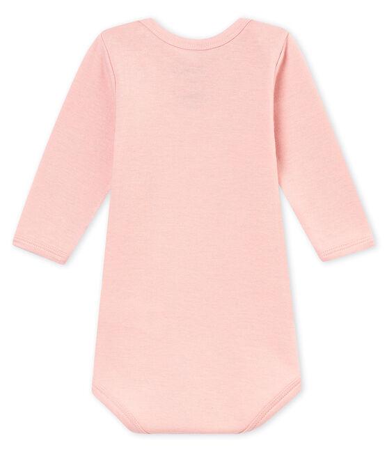 Baby boy's long sleeved body Joli pink