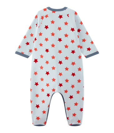 Baby boy star print sleepsuit