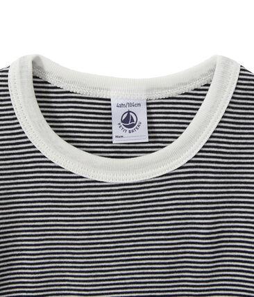 Boy's shortie pyjamas with milleraies stripes