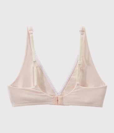 Women's Bra Fleur pink
