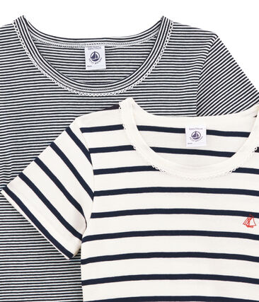 Girls' Short-sleeved T-shirt - Set of 2 . set