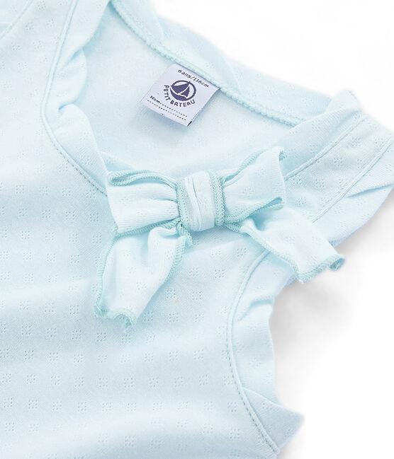 Girls' Sleeveless Top Bocal blue