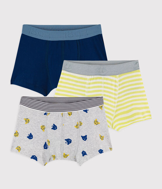 Boys' Panther Print Boxer Shorts - 3-Pack . set