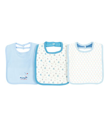 Surprise pack of 3 bibs for baby boys