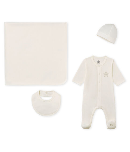 Unisex baby 4-piece gift box . set
