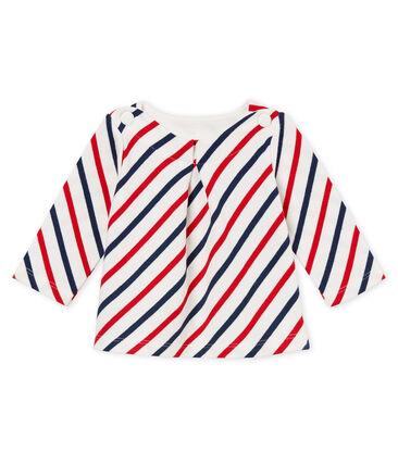 Baby girls stripy breton top