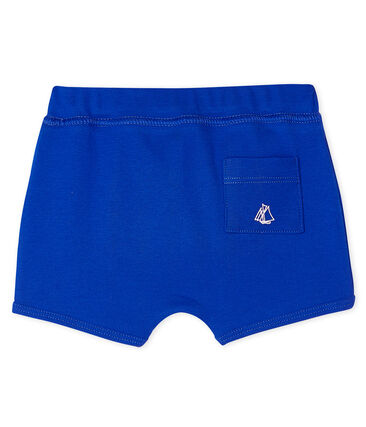 Unisex Baby's Plain Shorts Surf blue