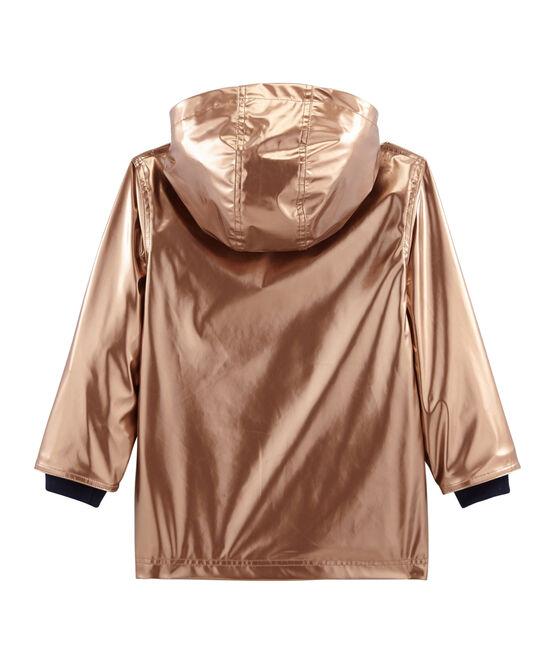 Girls' raincoat Copper pink