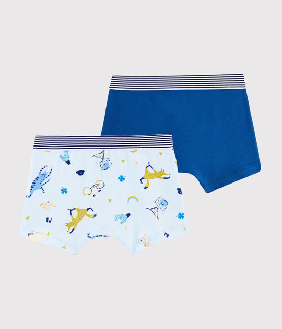 Boys' Yoga Animals Boxer Shorts - 2-Piece Set . set