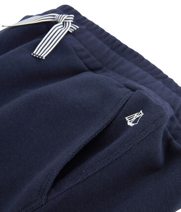 Boys' Knit Trousers Smoking blue