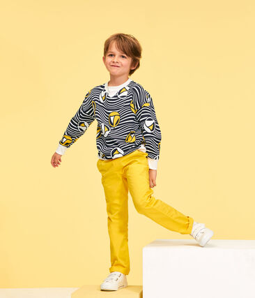Boys' Trousers Gengibre yellow