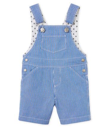 8141f54eb7e5 Baby boys  striped cloth short dungarees
