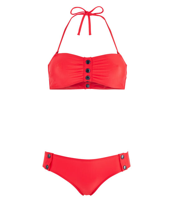 Women's Eco-Friendly Bikini Peps red