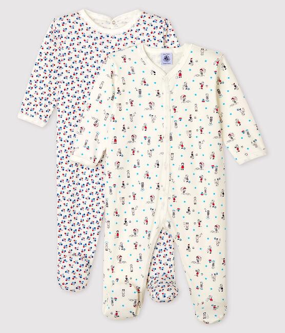Baby Girls' Ribbed Sleepsuit - 2-Pack . set