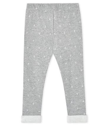 Baby boy's trousers Subway grey / Marshmallow white