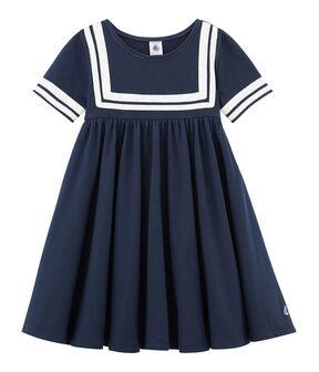 Girls' Dress Smoking blue