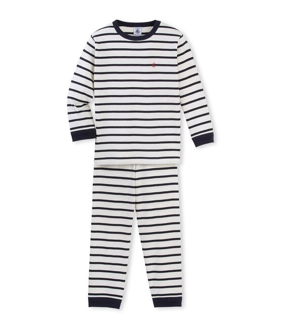 Boys' Pyjamas Coquille beige / Smoking blue