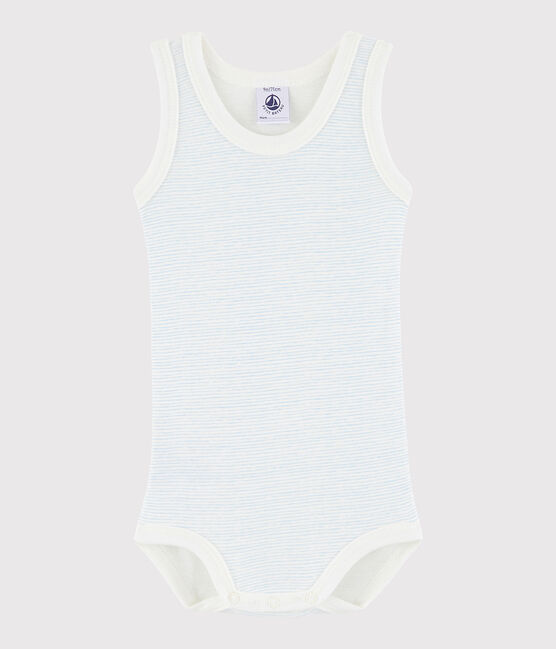 Baby Boys' Sleeveless Bodysuit LAIT/OXYGENE