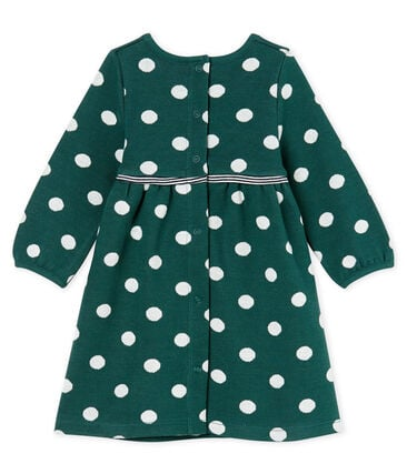 Baby Girls' Long-Sleeved Spotted Dress