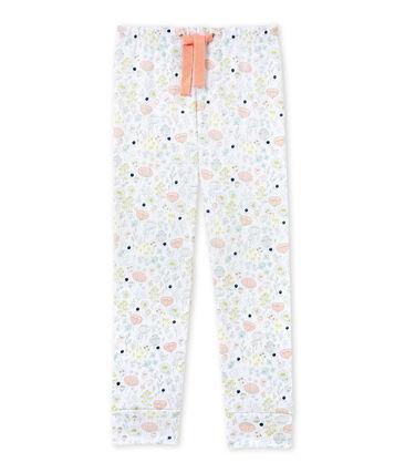 Girls' coordinating pyjama trousers