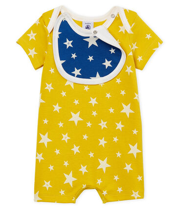Baby Boys' Shortie Honey yellow / Marshmallow white