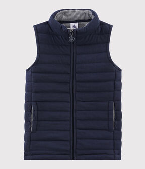 Boys'/Girls' Sleeveless Jacket Smoking blue