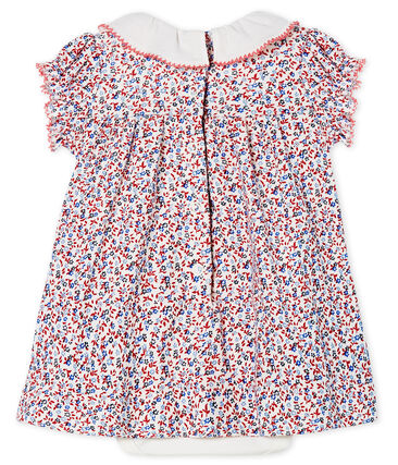 Baby girls' printed dress/bodysuit