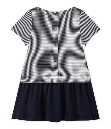 Baby girl's milleraies-striped dress