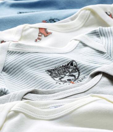 Baby Boys' Long-Sleeved Bodysuit - 5-Piece Set